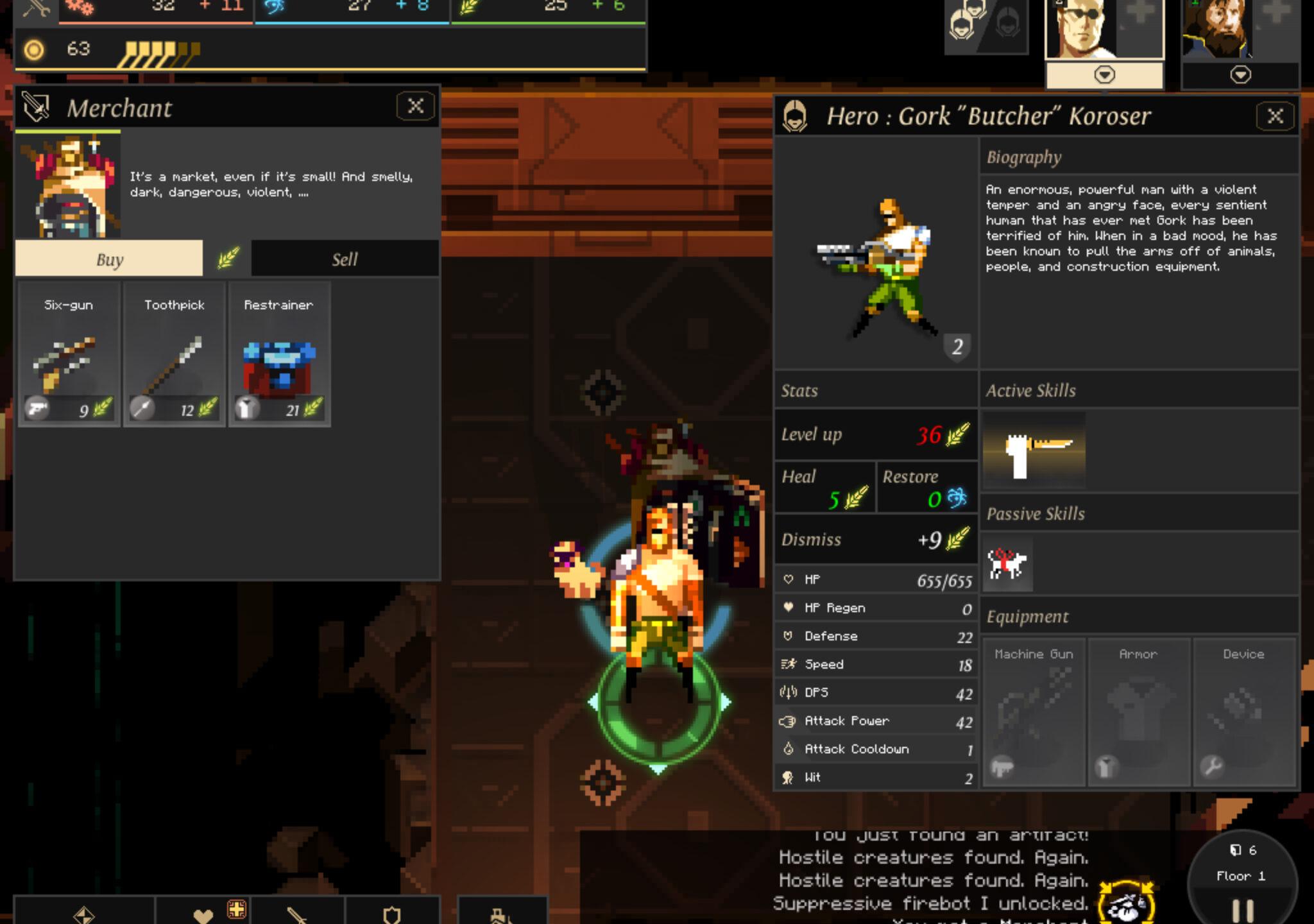 Dungeon of the Endless, développé sur PC par Amplitude (avec le concours de nombreux sous-traitants), porté sur mobile par Black Sheep Studio.