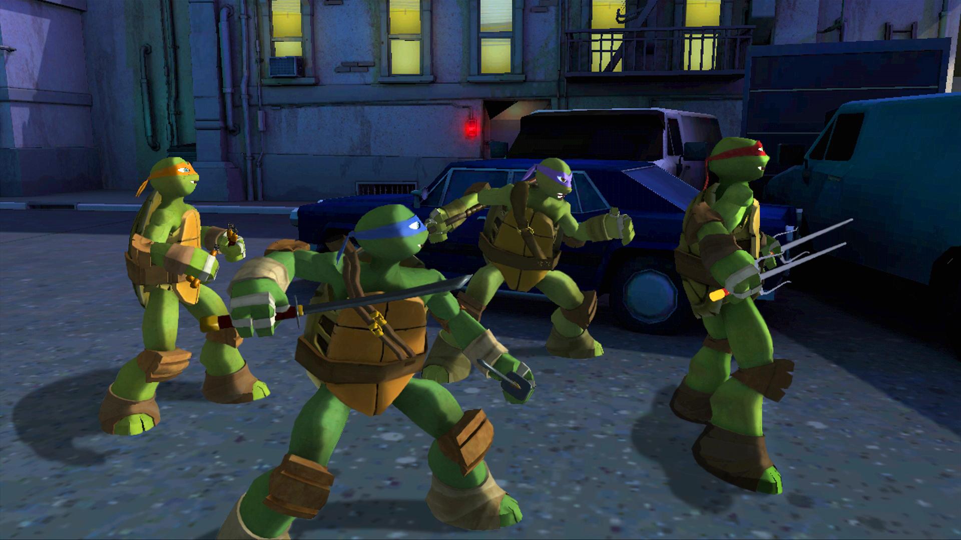 Teenage Mutant Ninja Turtles, commandé par Activision aux Français de Magic Pockets.