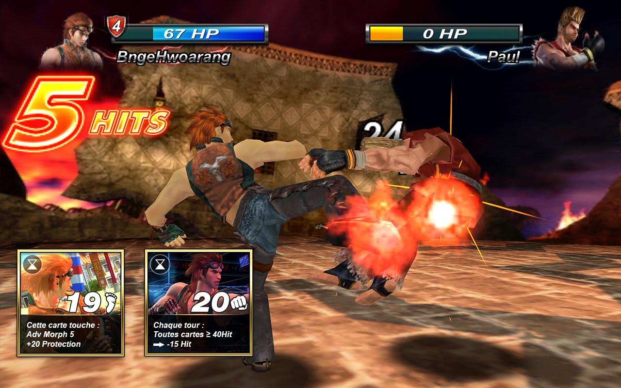 Tekken Card Tournament, commandé par Bandai Namco aux Marseillais de C4M Prod.
