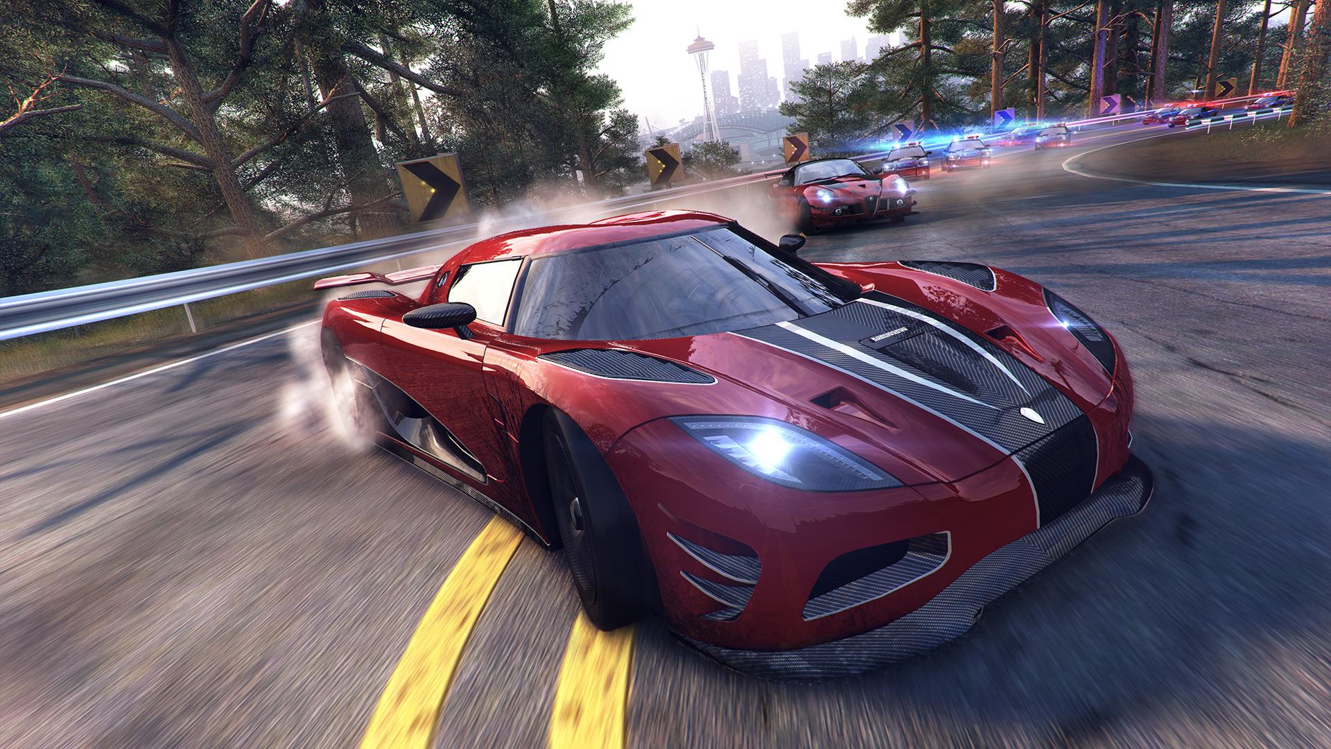 The Crew, développé sur PC, Xbox One et Playstation 4 par le studio lyonnais Ivory Tower pour Ubisoft, porté sur Xbox 360 par les Bordelais d'Asobo Studio.
