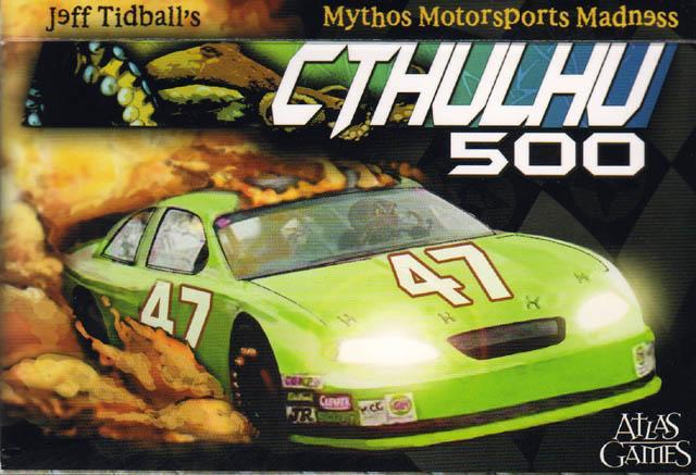 Cthulhu 500: de la course automobile et du Mythe de Lovecraft… Je… Quelqu'un a mis un truc dans mon café, là, ou bien?