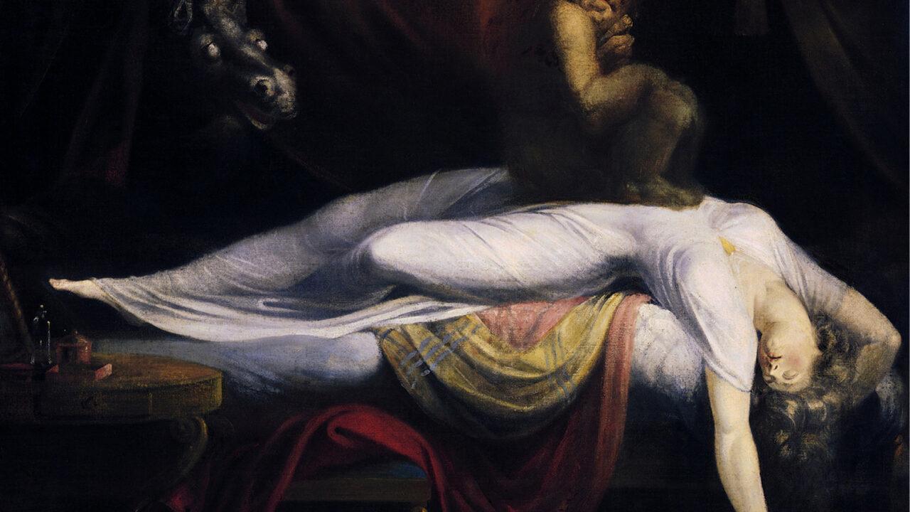 (1) L'incube, star des cauchemars d'antan.
