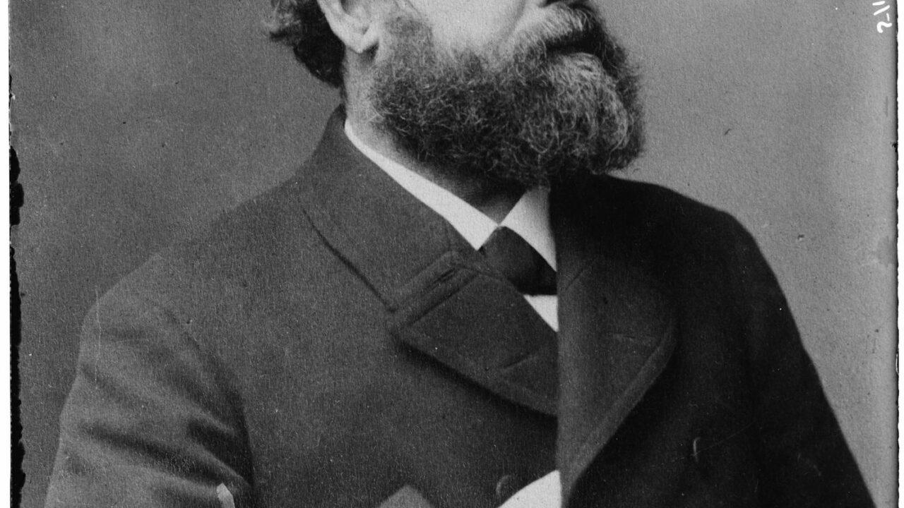 Henry George, l'économiste américain de gauche dont les théories ont inspiré l'inventrice du Monopoly.