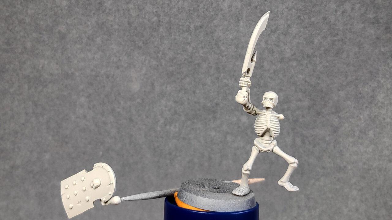 1 - Squelette sous-couché.