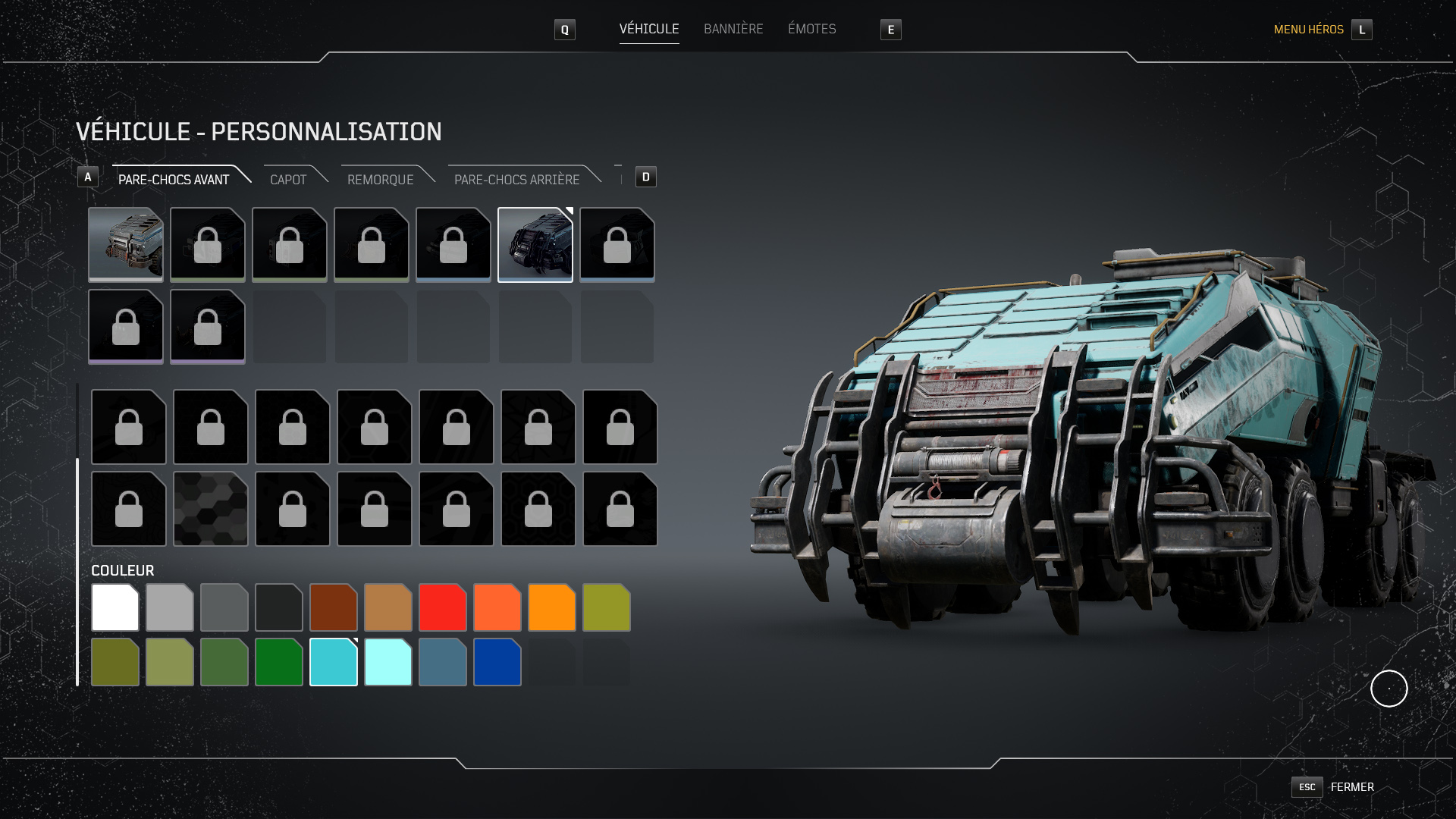 Oui, on peut aussi customiser son camion, grâce à de très nombreuses options. Et, oui, ça ne sert à rien du tout.