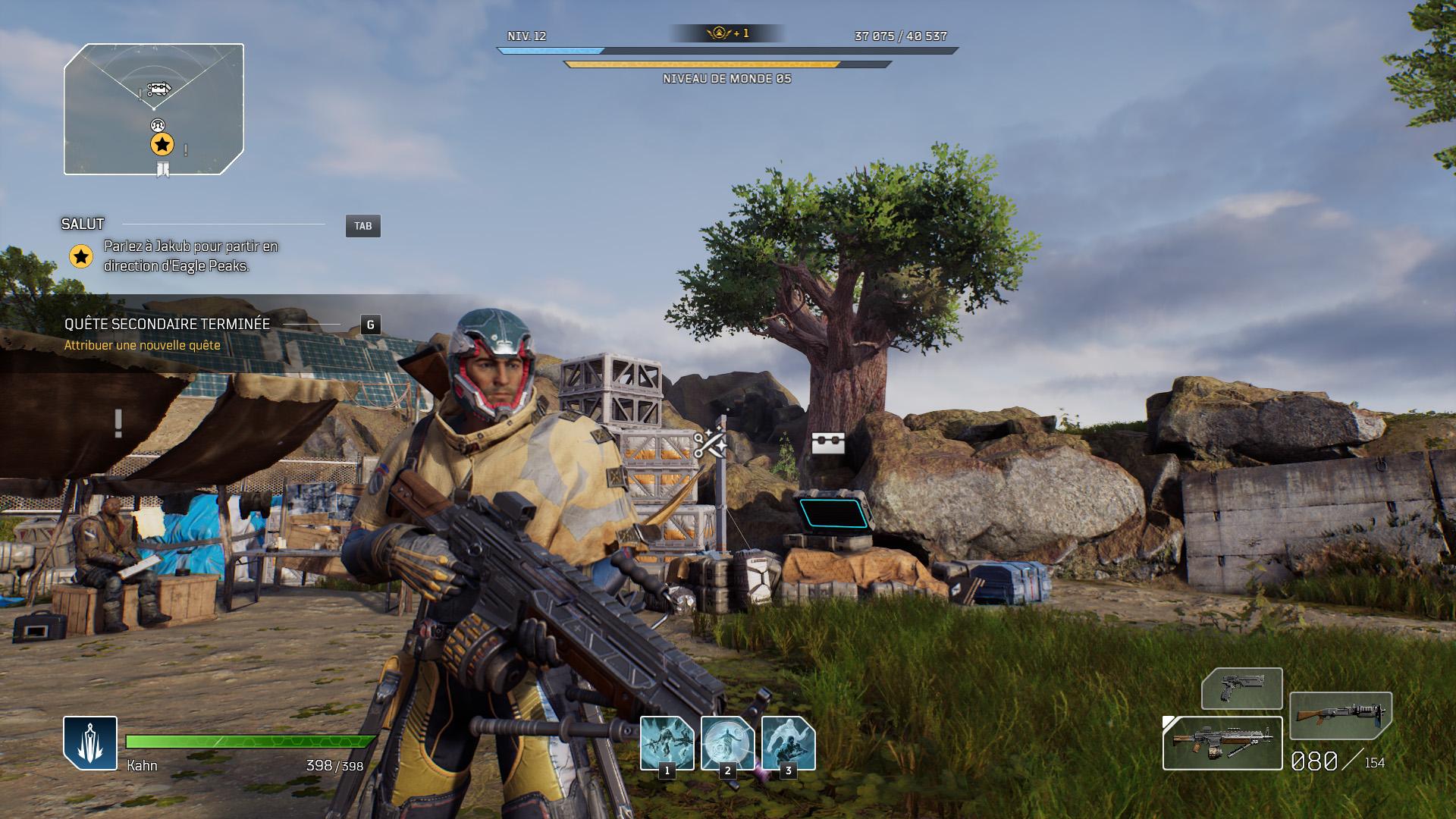 Alors, Anthem, Mass Effect ou PlanetSide 2?