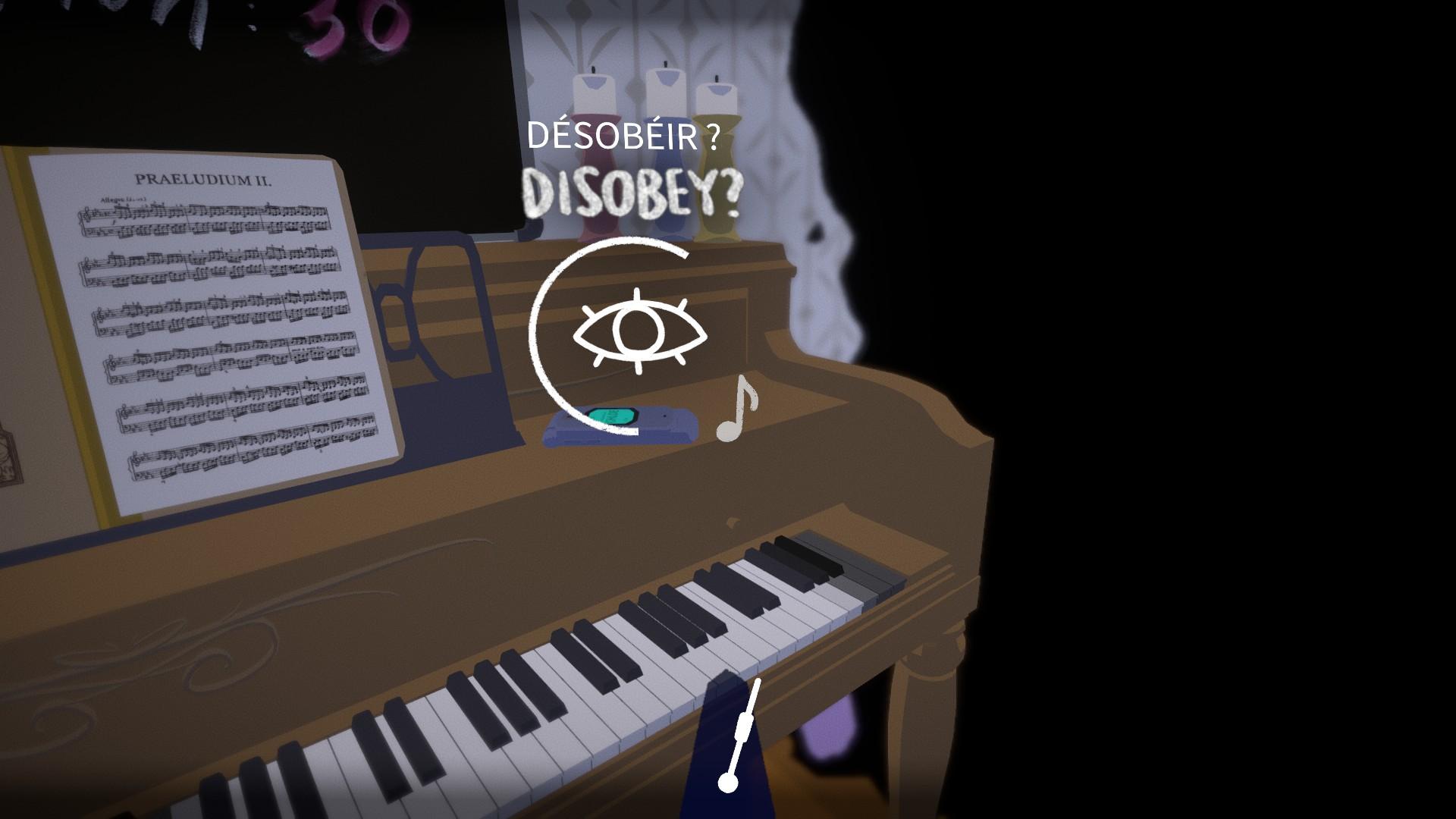 Le jeu propose quelques choix majeurs, avec des issues différentes.