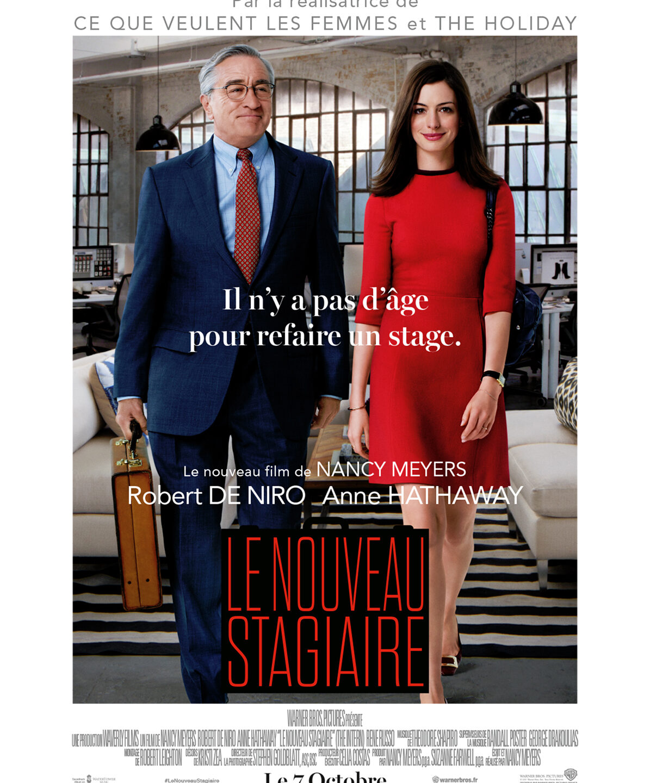 Le Nouveau Stagiaire, un film de Nancy Meyers simplet mais chaleureux, avec Robert De Niro et Anne Hathaway. Disponible sur Netflix.
