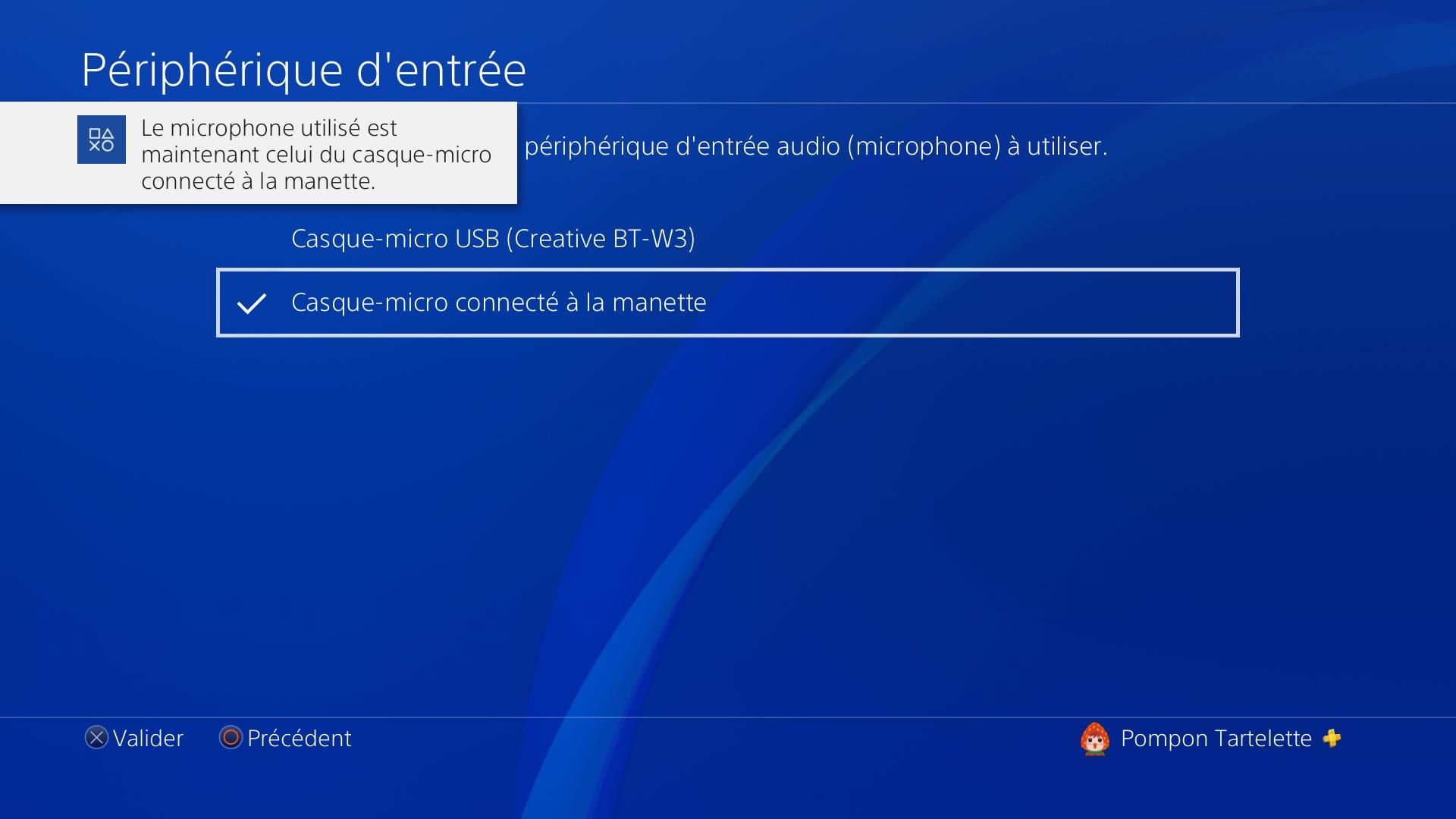 La PlayStation 4 permet de séparer entrée et sortie.