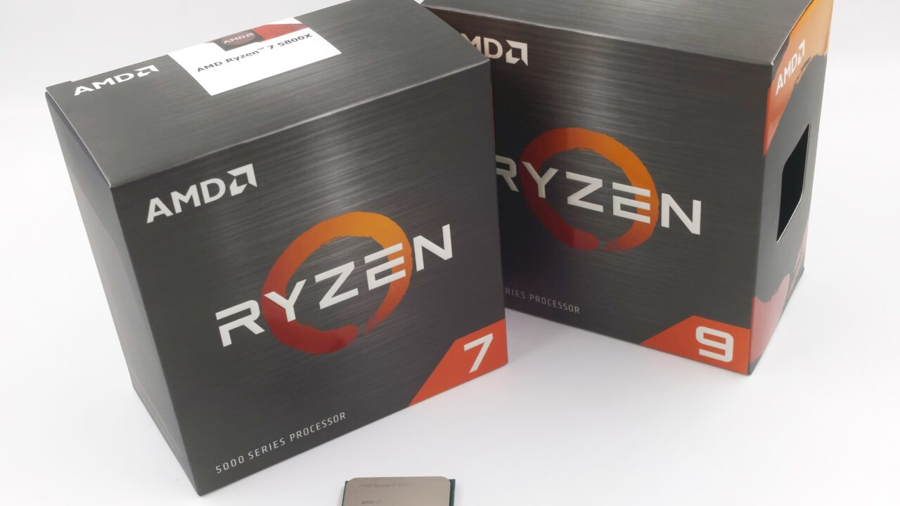 Deux Ryzen 5000, avec 8 et 12 cœurs.