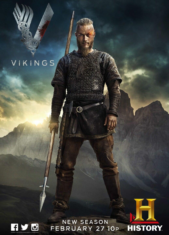 Vikings, un Game of Thrones plutôt cool mais pas si historique que ça. Disponible sur Netflix.