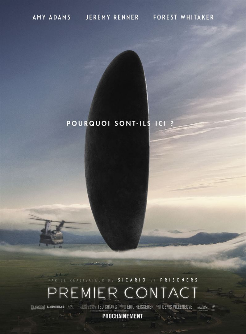 Premier contact, un film de Denis Villeneuve.