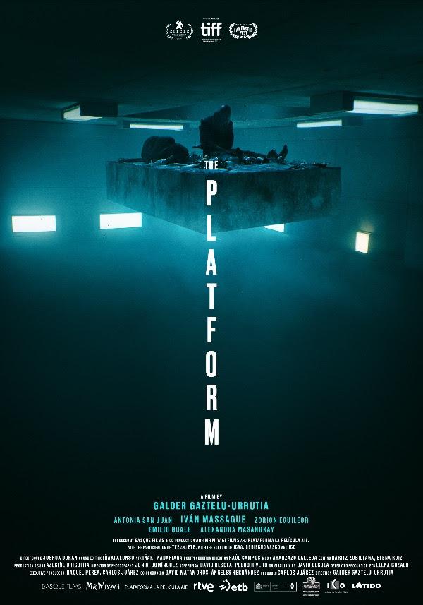 """La Plateforme, un film """"à la Cube"""" disponible sur Netflix."""