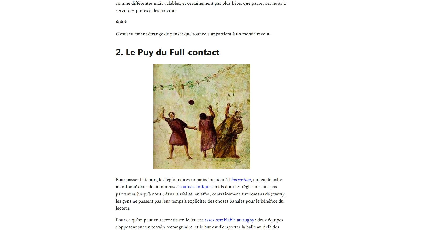 Une newsletter épatante qui arrive chaque semaine dans votre boîte mail. Inscription et épisodes précédents à l'adresse tout.substack.com