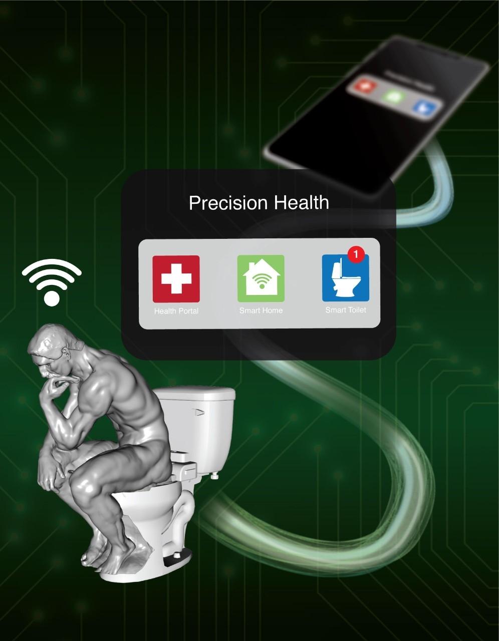 Smart Toilet (Sanjiv « Sam » Gambhir)