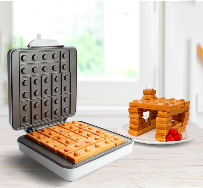 Building Brick Breakfast Waffle Maker (That's Amazing - Kitchen)