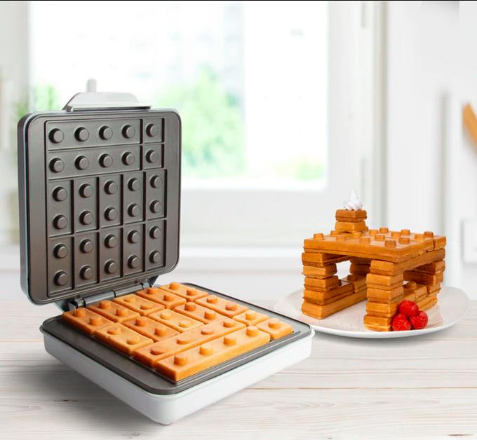 Building Brick Breakfast Waffle Maker (That's Amazing - Kitchen)