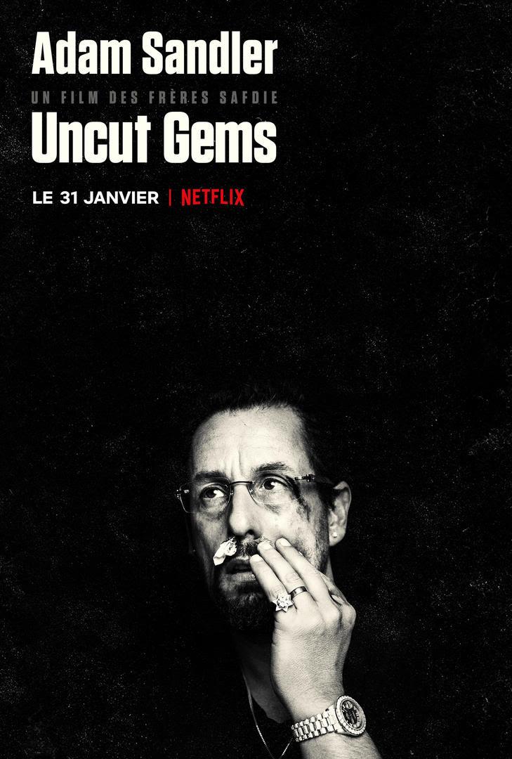 Uncut Gems, un film des frères Safdie sur notre besoin de contrôle et l'immensité cosmique, disponible sur Netflix.