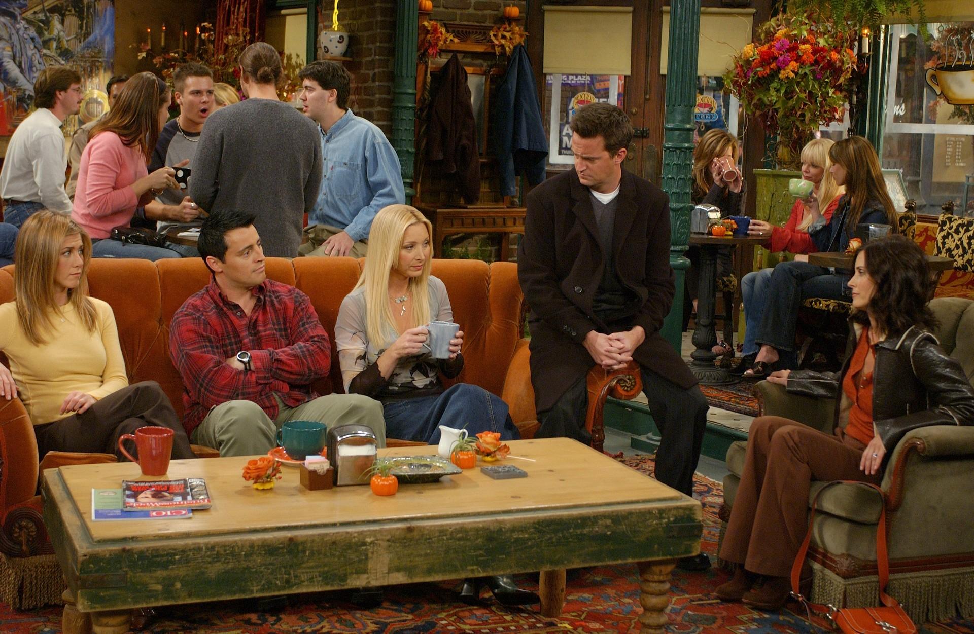 Friends, une série en 10 saisons toutes disponibles sur Netflix.