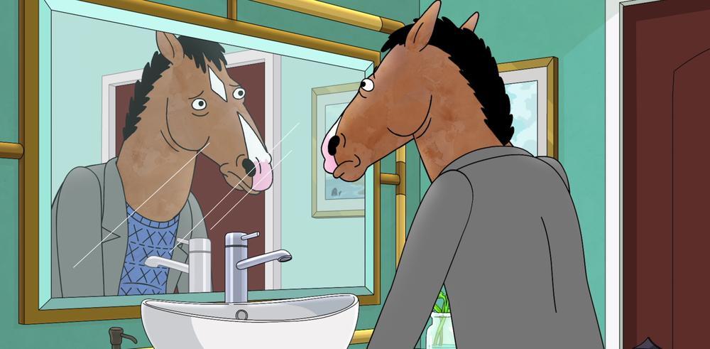 Bojack Horseman, une série sur la vie. Disponible sur Netflix.