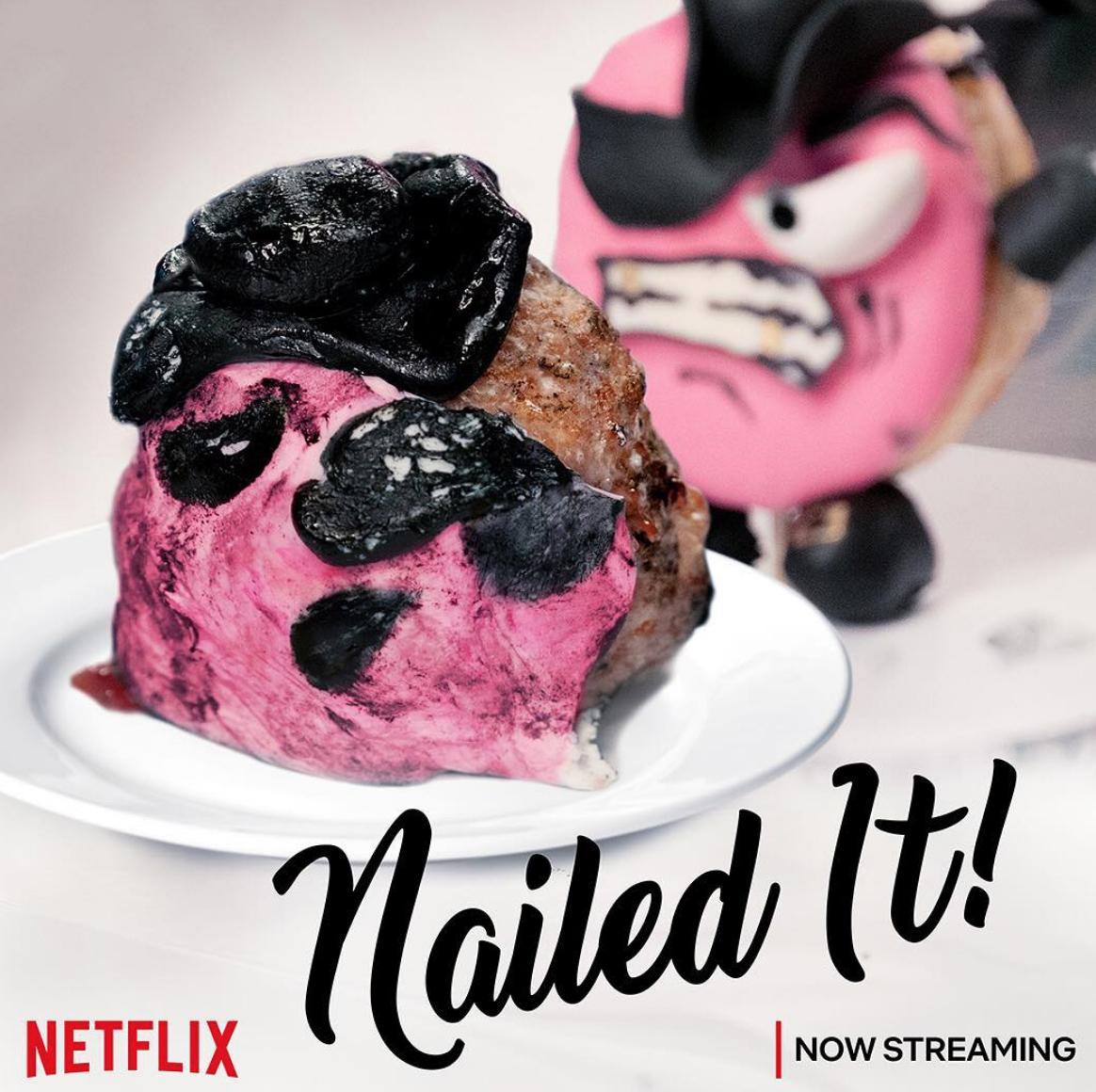 Nailed It!, une série qui donne l'impression d'être un pro de la pâtisserie, présentée par Nicole Byer et Jacques Torres, disponible sur Netflix