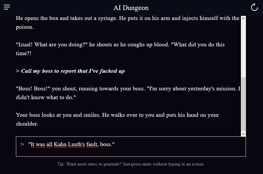 AI Dungeon 2