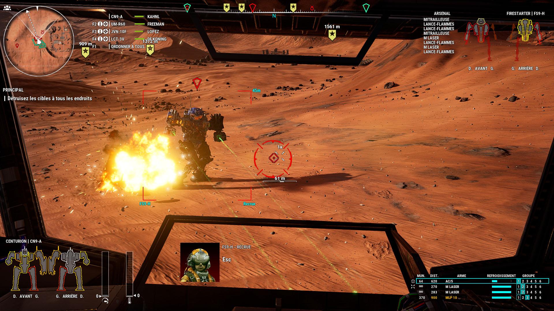 Entre ses graphismes désuets et son interface pas toujours au point, le jeu donne parfois la fausse impression que les affrontements se résument à deux mechs qui se tirent dessus en attendant de voir qui explosera en premier.