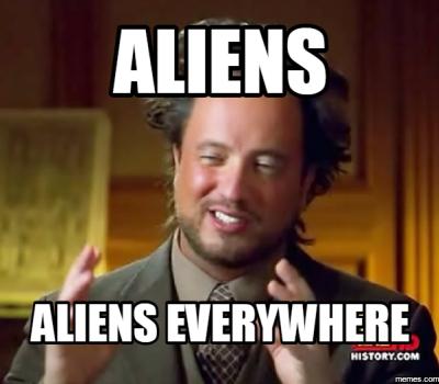 Alien Theory. Saison 2 disponible sur Netflix. À regarder entre deux conférences d'Étienne Klein.