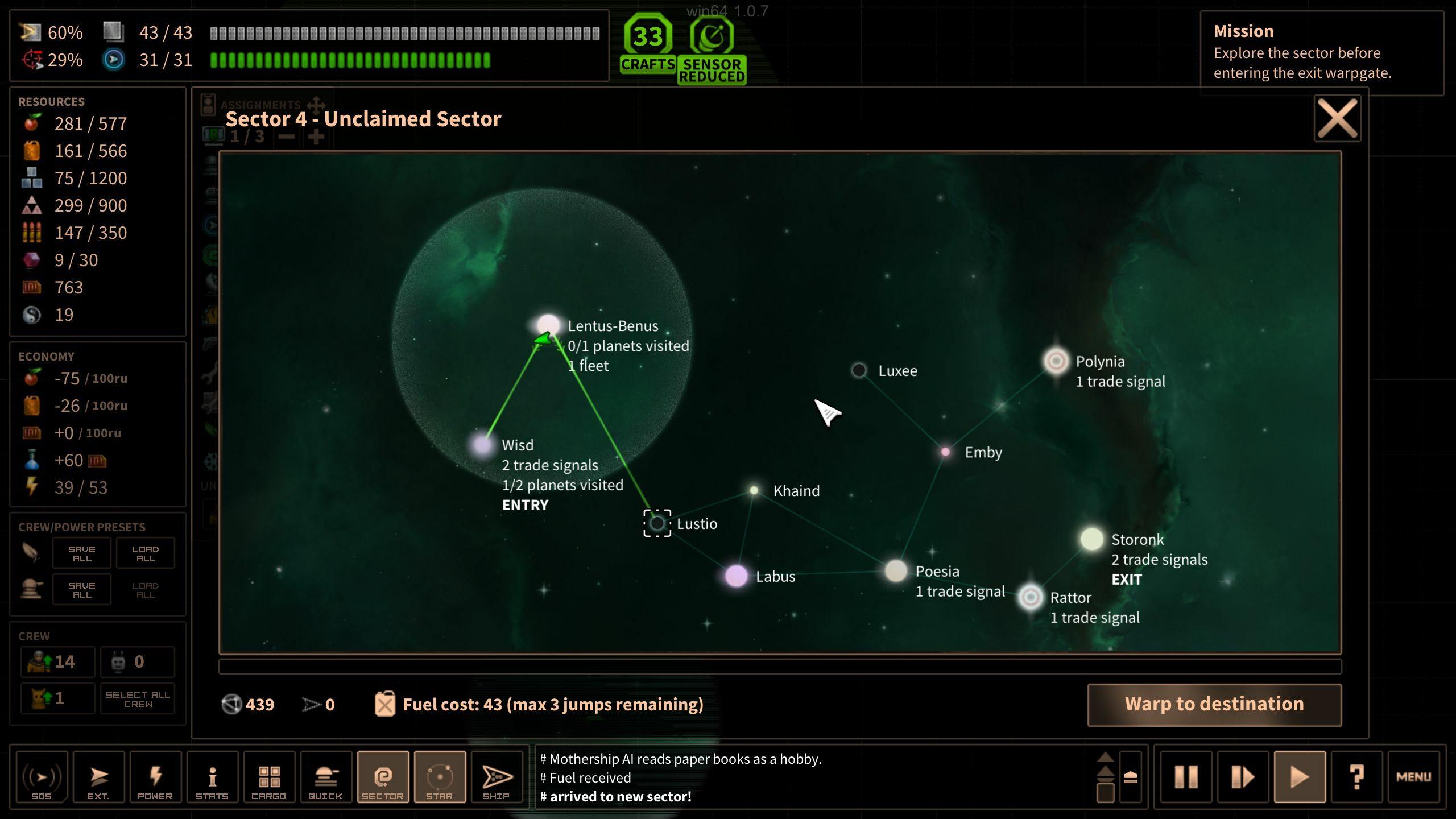 Les secteurs sont moins linéaires qu'en apparence, avec parfois des missions à accomplir qui forcent le joueur à bourlinguer plus que de raison.