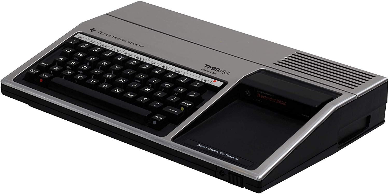 Le TI-99/4A (1981).