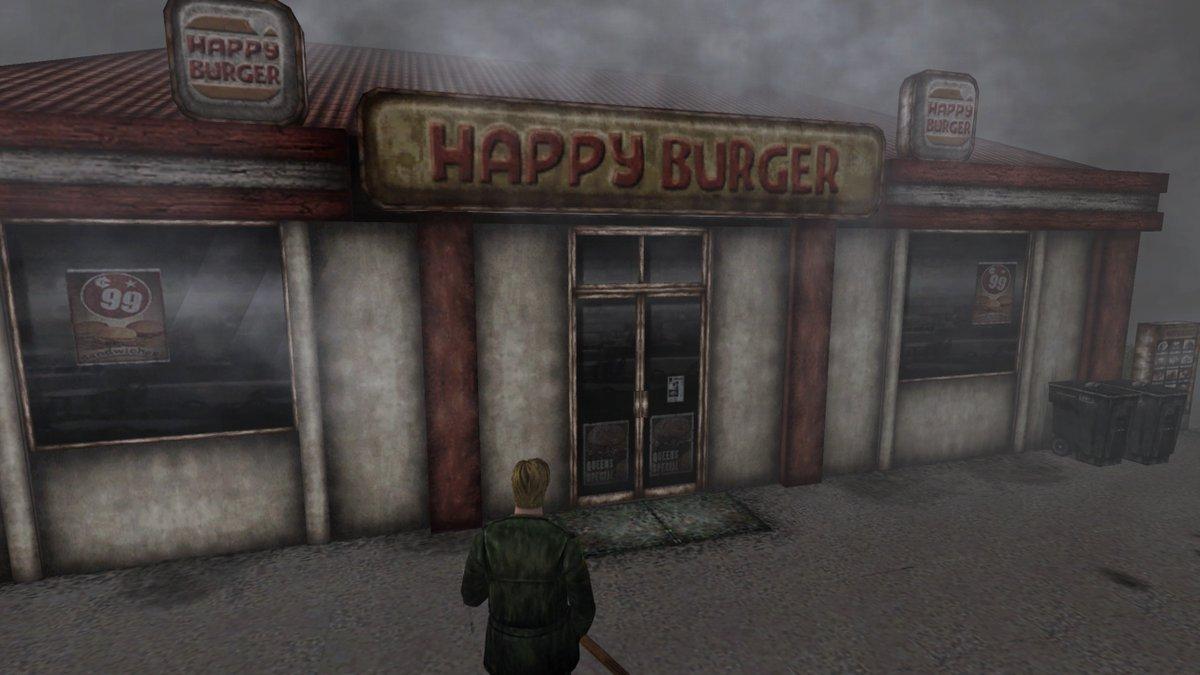 Les restaurants de Silent Hill, compilés par le journaliste Andy Kelly.