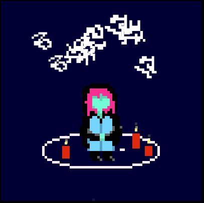 Take Care, de Merritt K, un jeu destiné à prendre soin d'un petit être souffrant. https://a-dire-fawn.itch.io/take-care
