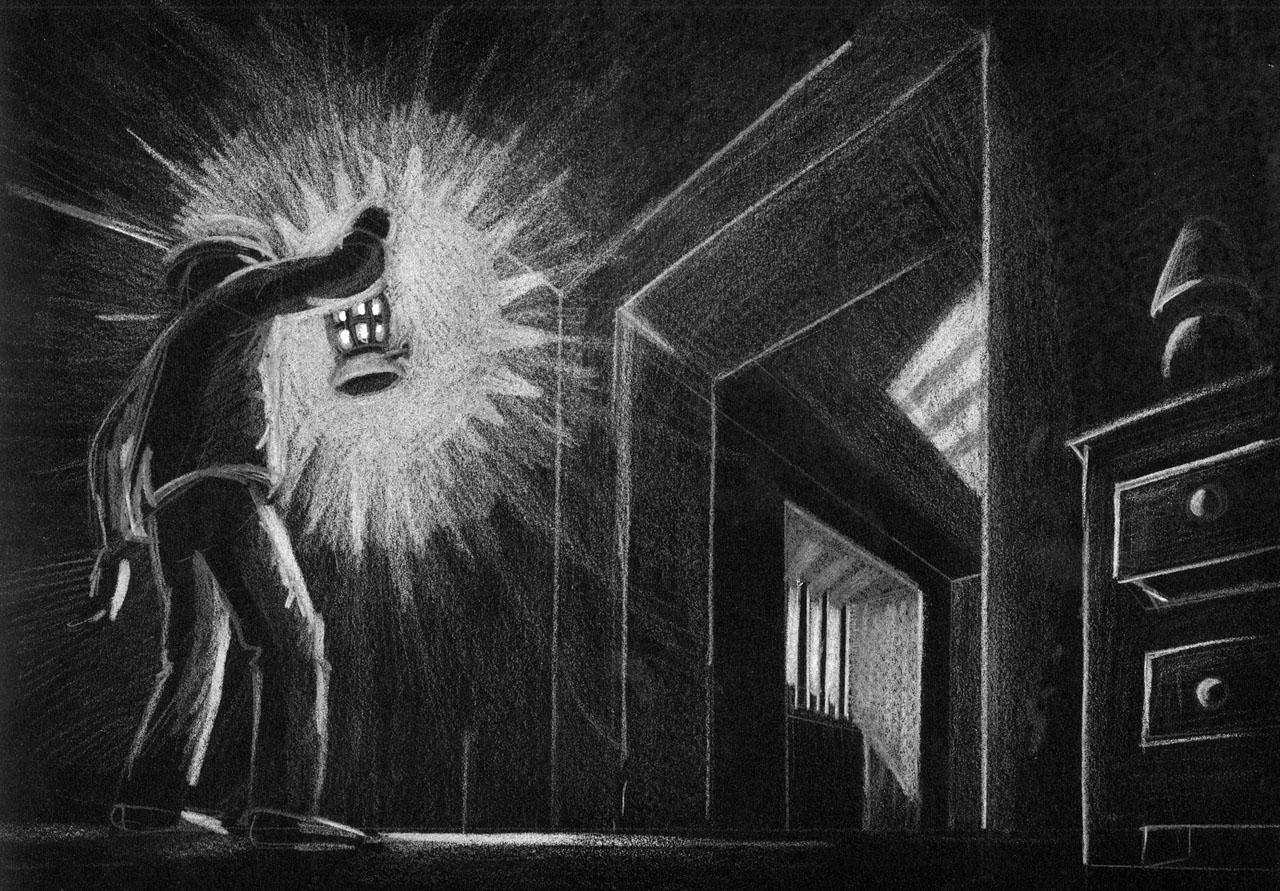 Le dessin de Didier Chanfrey, première pierre à l'édifice Alone in the Dark…