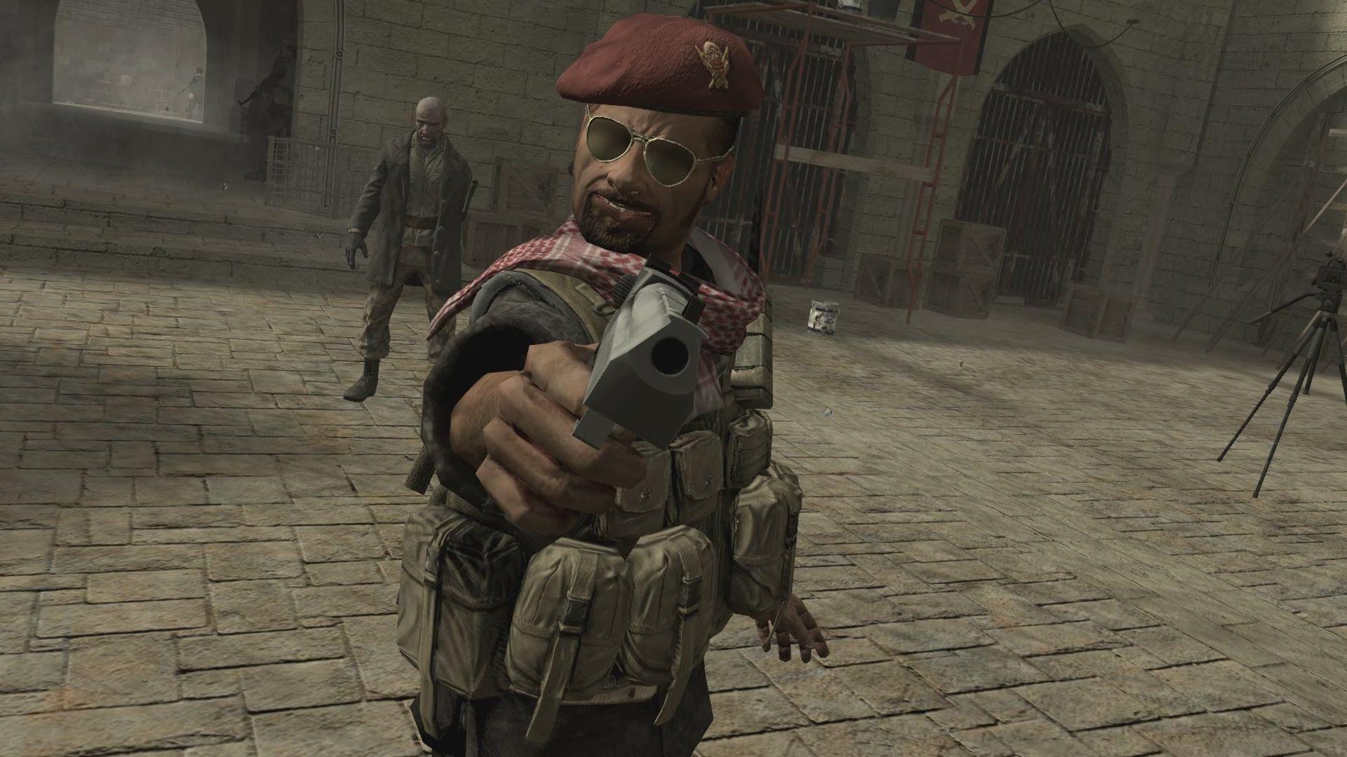 Dans Call of Duty 4: Modern Warfare, le joueur se fait assassiner en vue à la première personne.