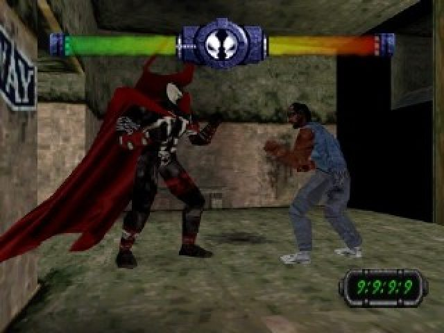 Même aux standards de la première PlayStation, ça pique fort les yeux.