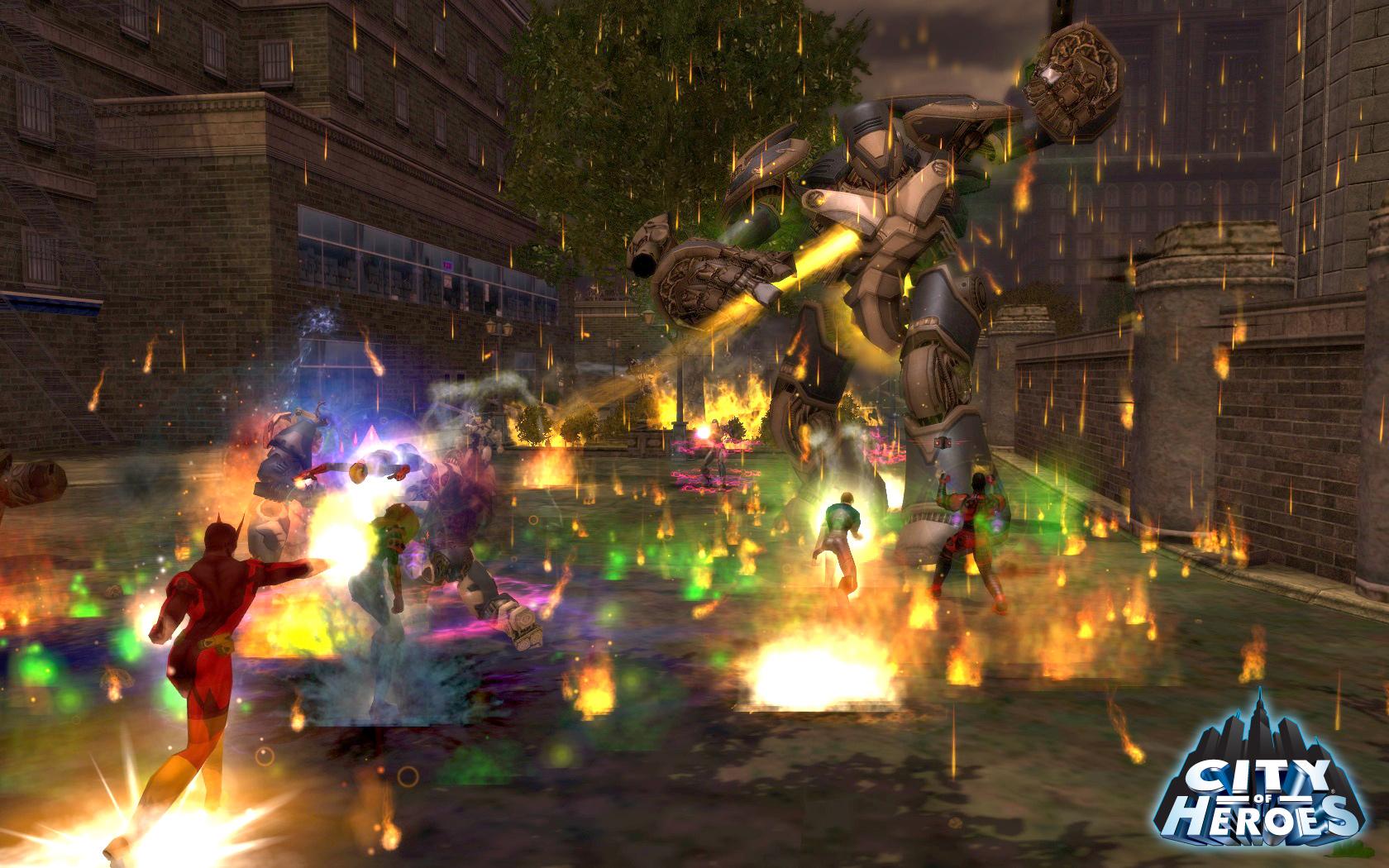City of Heroes (2004): des combats épiques, même si souvent un peu brouillons