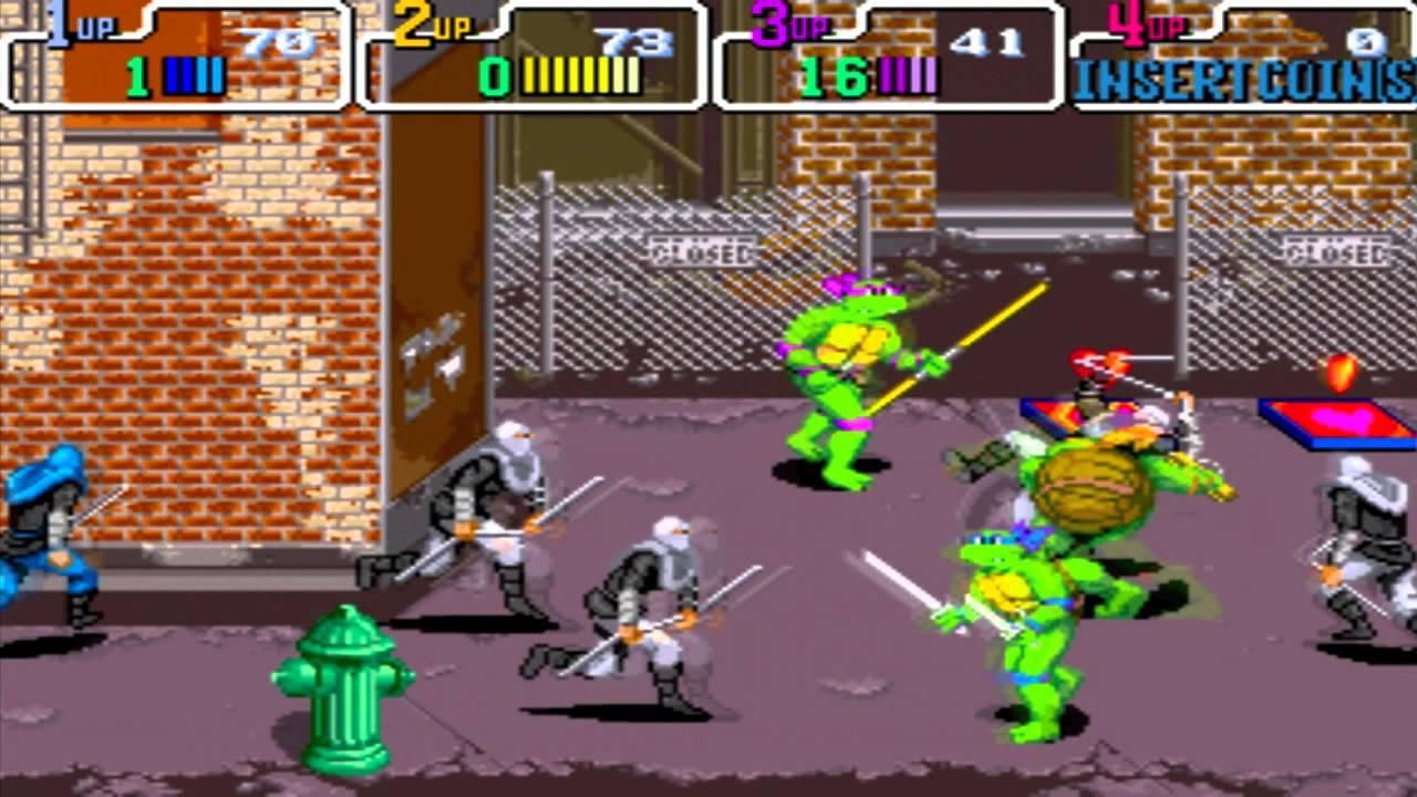 La version arcade, un poil plus jolie et mieux animée que son adaptation sur SNES...