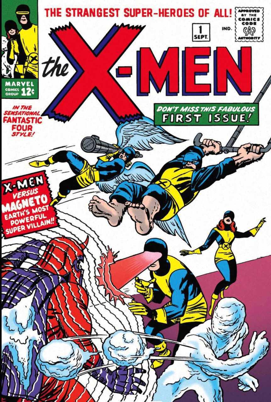 La toute première apparition des X-Men, en 1963 !