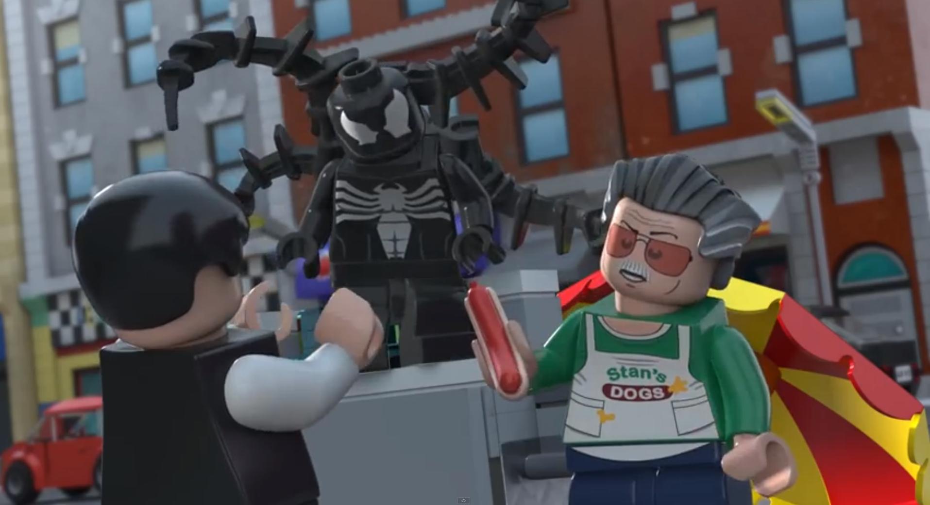 Dans les jeux vidéo comme dans les films, l'ami Stan Lee est le roi des caméos.