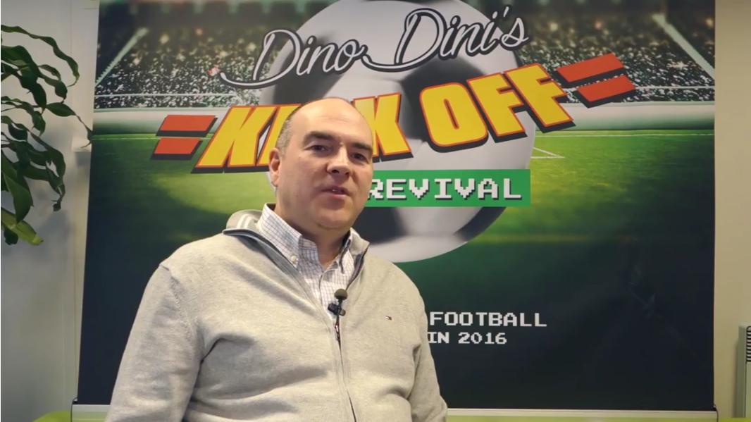 Pour accompagner la sortie de Revival, Dino Dini a mis en ligne une série de vidéos assez instructives sur son parcours et la façon dont il a appréhendé l'après-Kick-Off dans les années 1990.