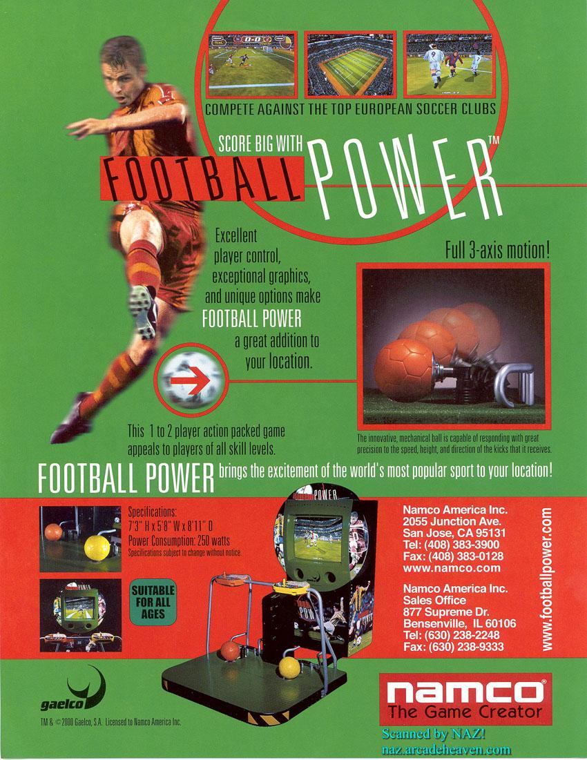 La borne Football Power, dite aussi «borne de la fausse bonne idée».