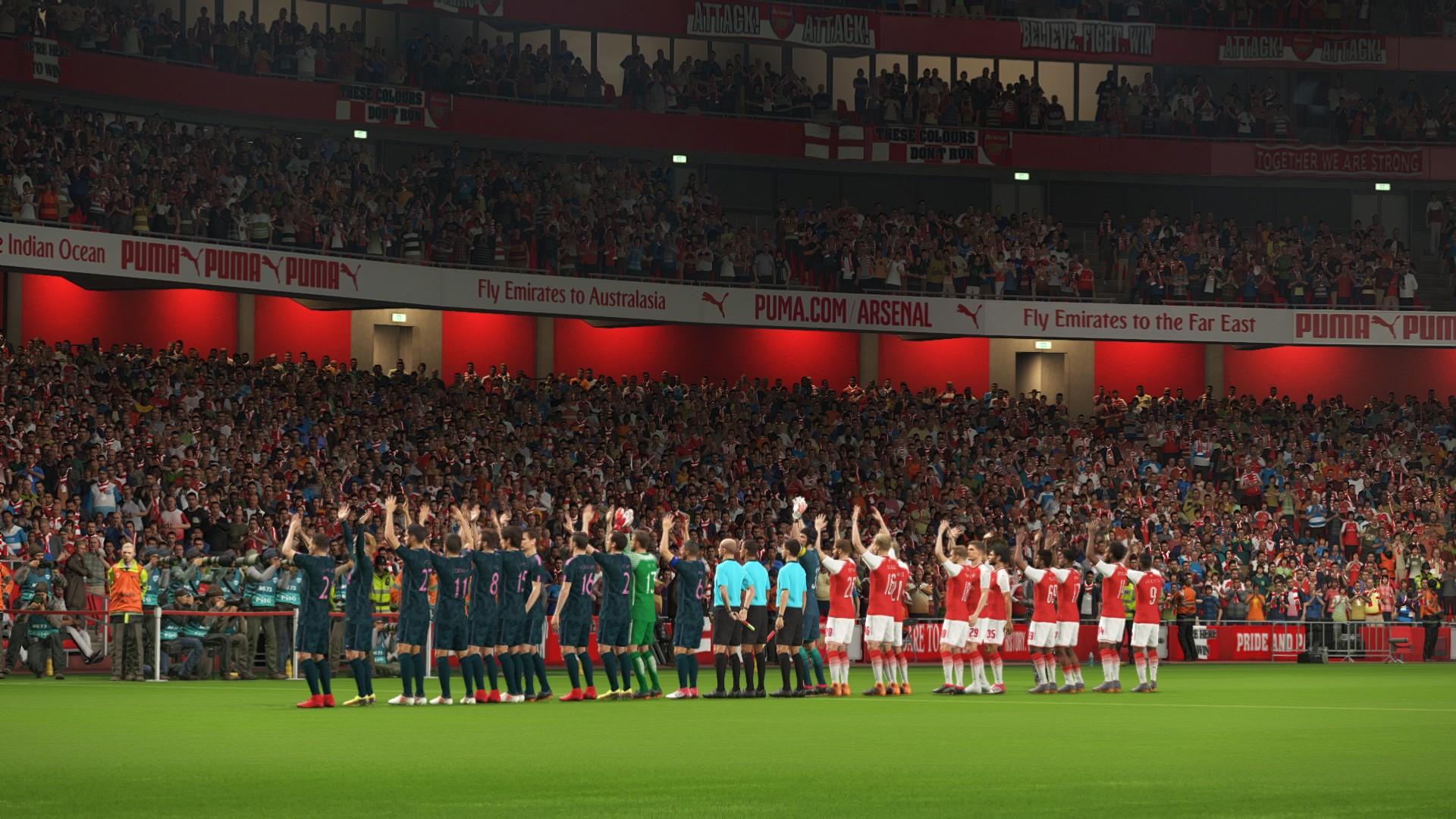 Arsenal a beau jouer dans son Emirates Stadium, cela n'aura pas d'impact sur le moral des joueurs dans PES 2018. Beaucoup trop réaliste...