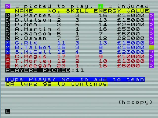 Vous pensiez que le Football Manager nouvelle génération était imbuvable? Découvrez son ancêtre de 1982. Presque trop tape-à-l'œil, hein?
