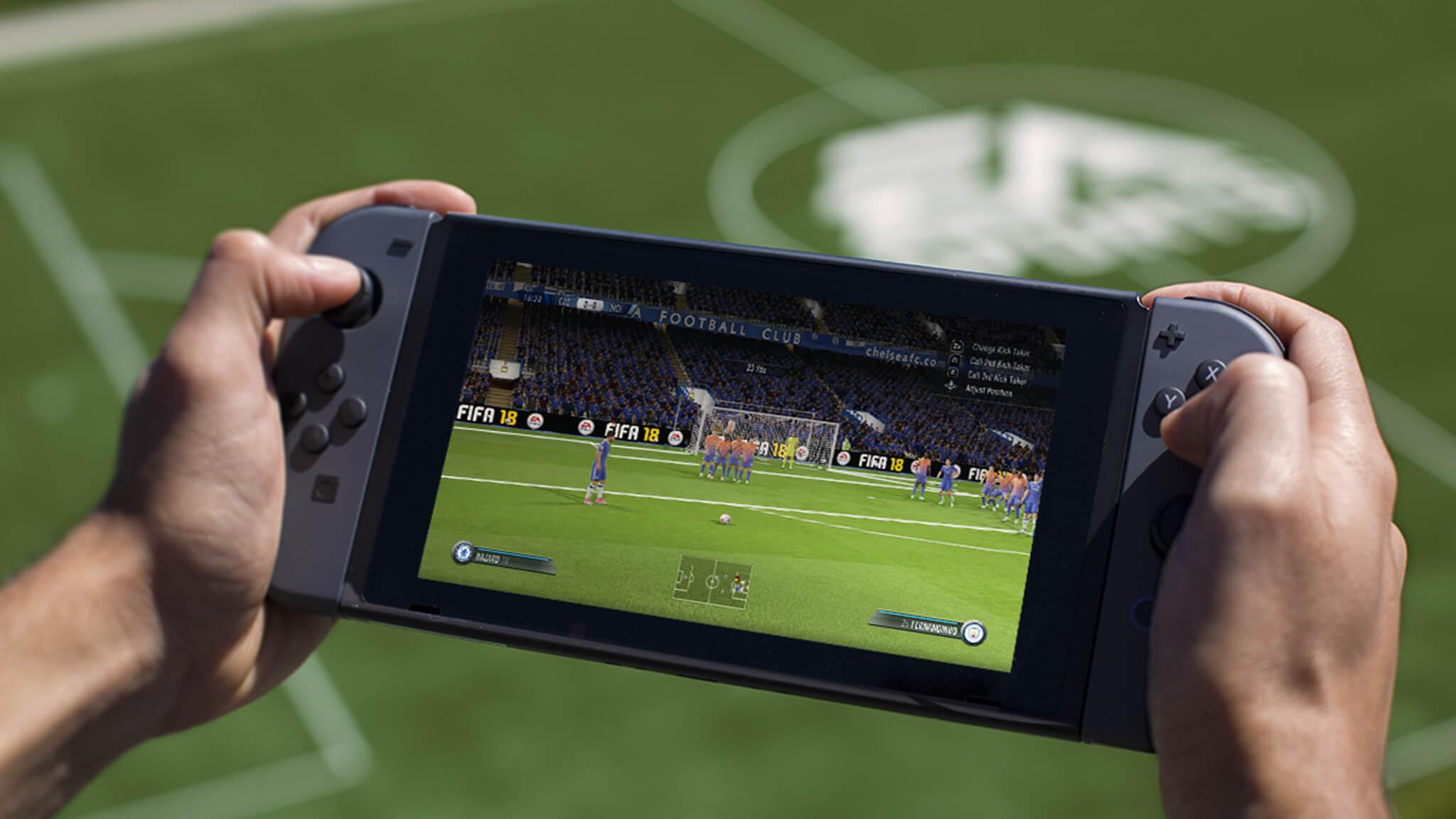 EA a bizarrement retrouvé le chemin de chez Nintendo en voyant grimper la courbe des ventes de la Switch.