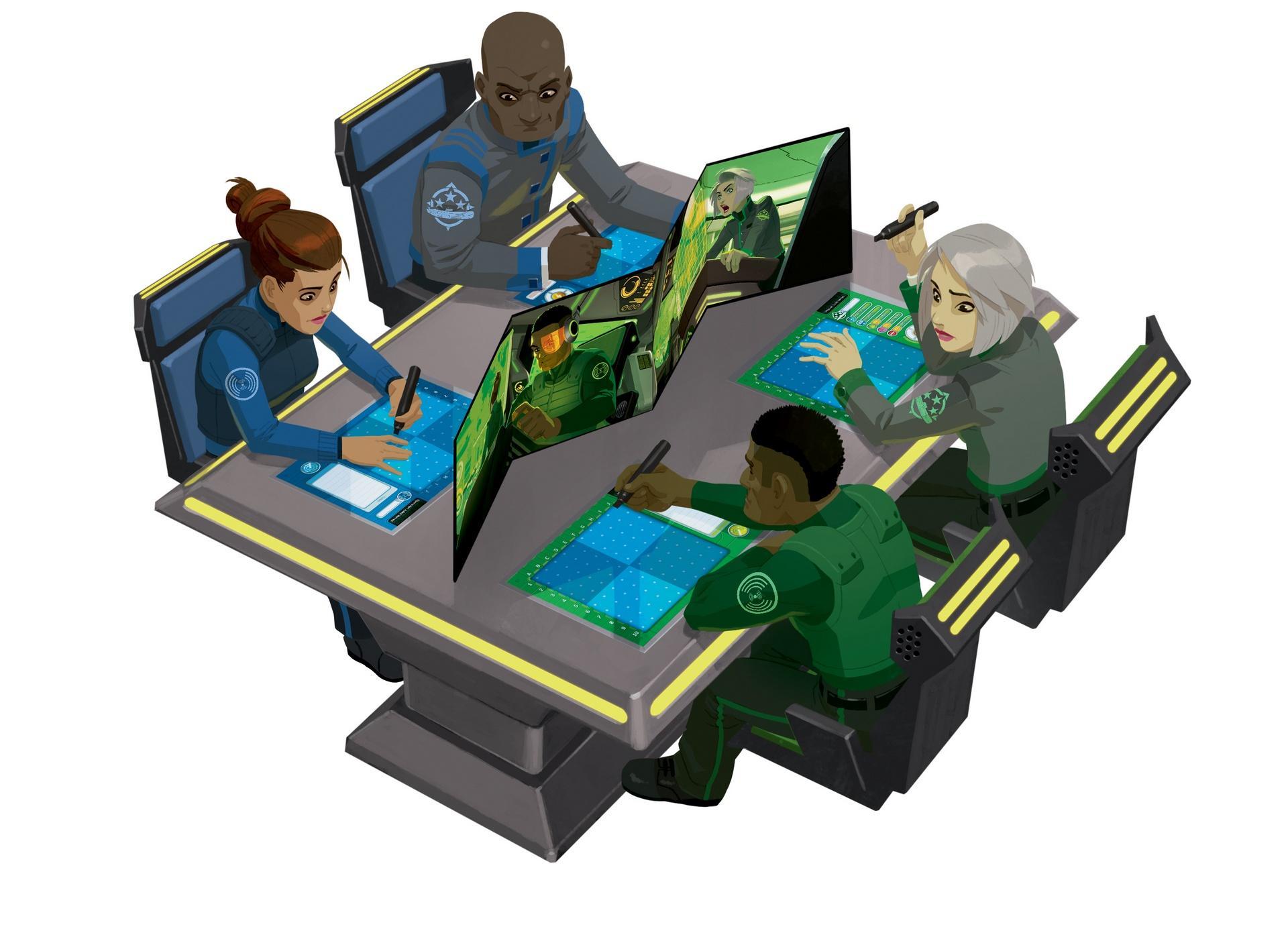Le jeu propose des parties à deux ou quatre joueurs mais honnêtement, la configuration idéale reste deux équipes de deux.