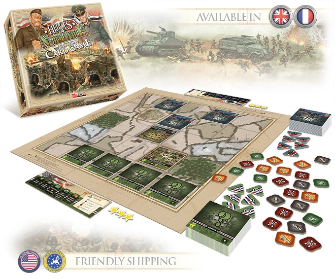 Heroes of Normandie, The Tactical Card Game