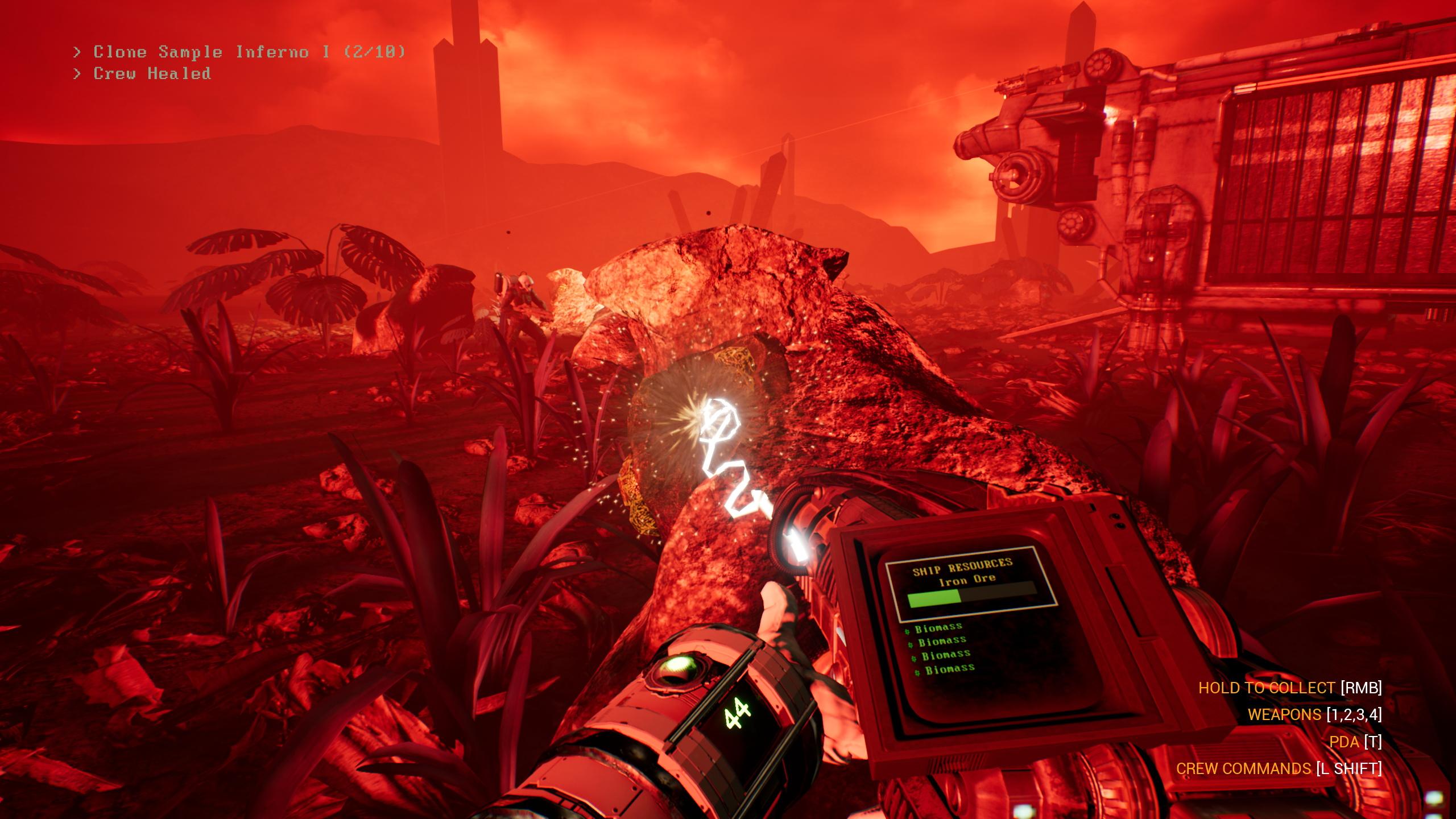 Astuce : le jeu est saturé de couleurs criardes et d'éclairages violents, ce qui en fait un excellent outil pour trouver les pixels morts sur votre moniteur.