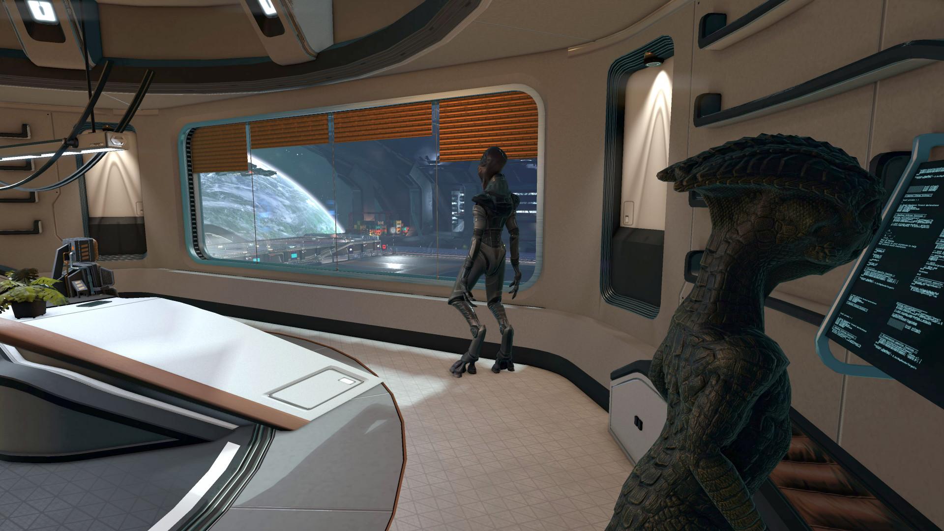 Il y a des jeux qui s'inspirent de 2001, l'Odyssée de l'espace. X4, lui, s'inspire juste de 2001, qui semble être la date à laquelle les animations des personnages ont été faites.