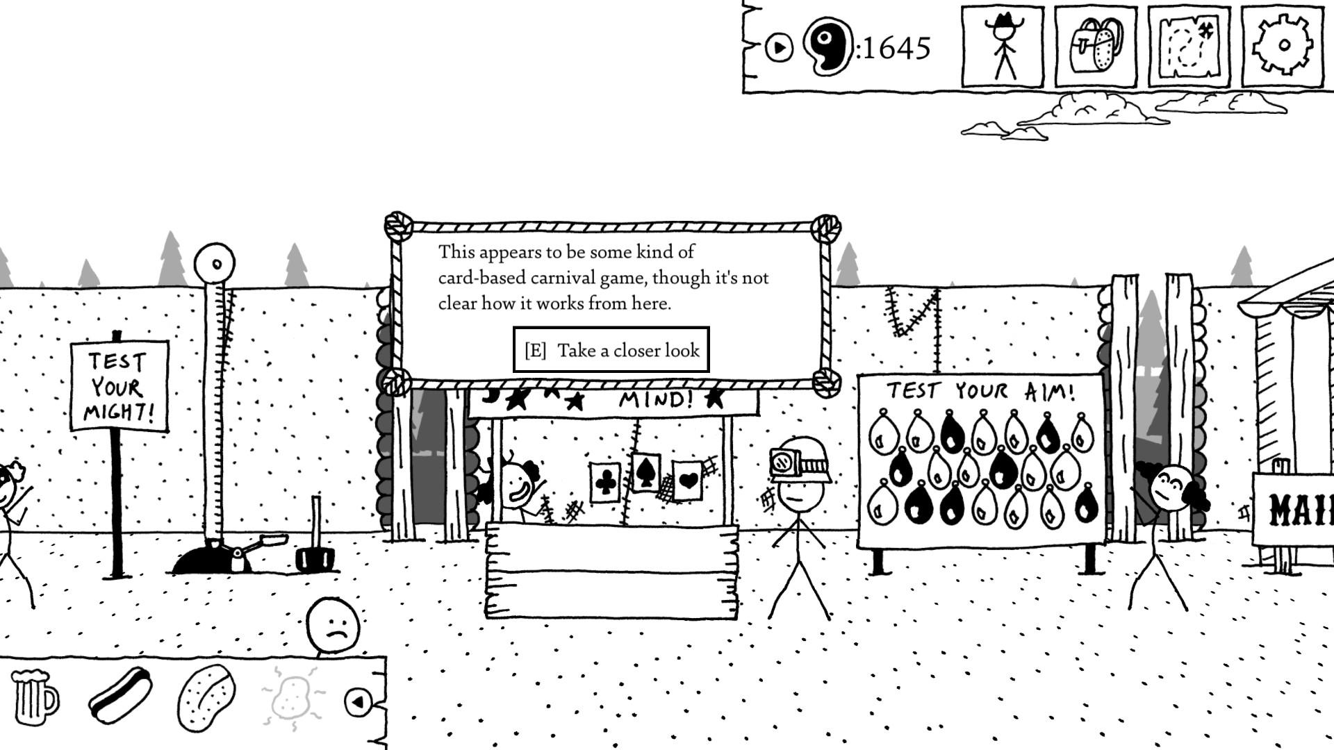 Même les options du moteur graphique font dans la caricature, avec un mode daltonien qui... ne change rien du tout.