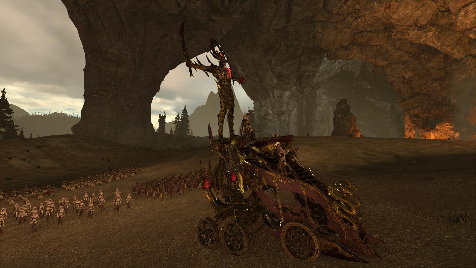 C'est lors des séances de tuning de chars sur le parking du Lidl de la lande de la Désolation que l'élégance, la sobriété et le goût sûr des elfes noirs peuvent s'exprimer.
